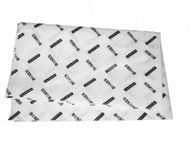 Custom Printed Logo WrappingTissue Paper For Shoe Clothes Packaging