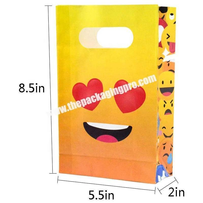 Custom printed party gift packing  bag