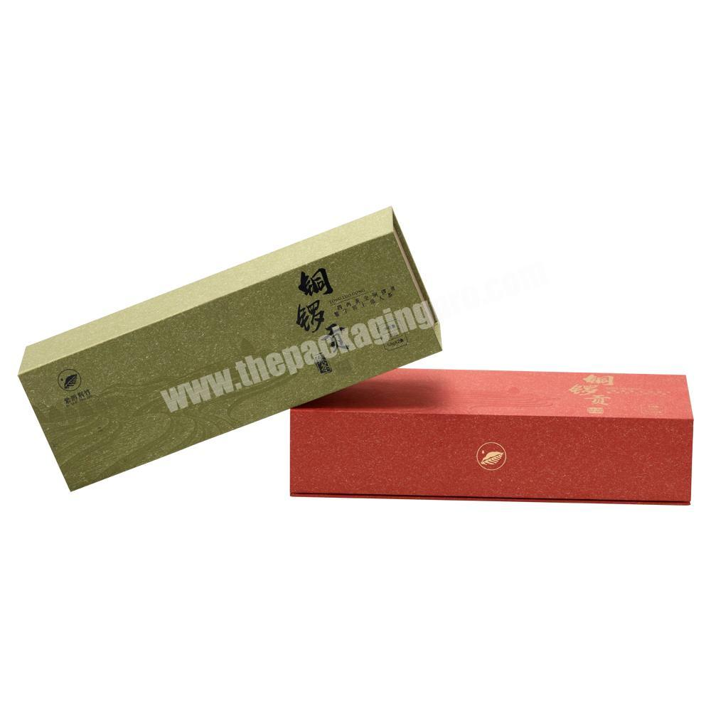 Supplier Custom Printing High Quality Lid Flipped Rigid Paper Box with Magnet & Paper Card Tray for Tea Cigarettes