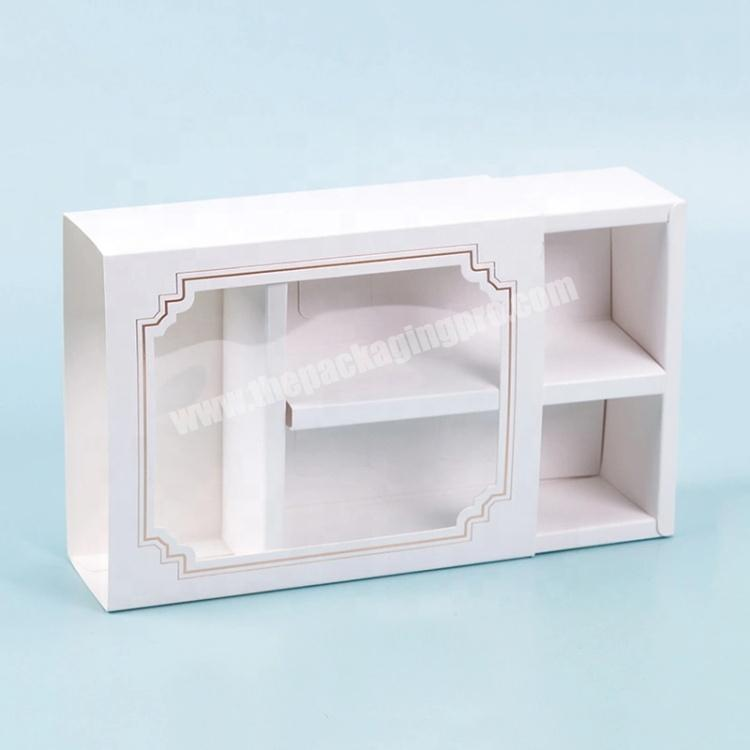 Custom Printing Retail Packing Paper Box Packaging With Window