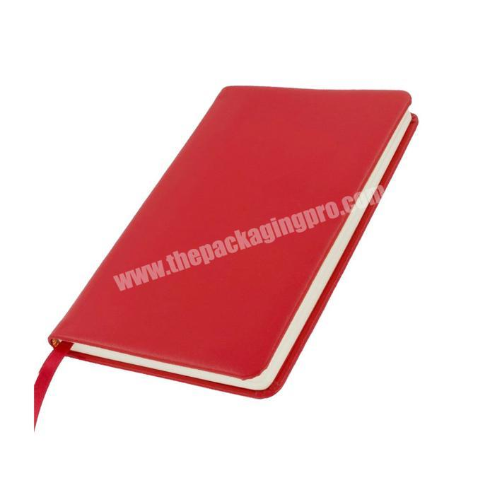 Custom Pu Leather Cover Notepad Notebook For School