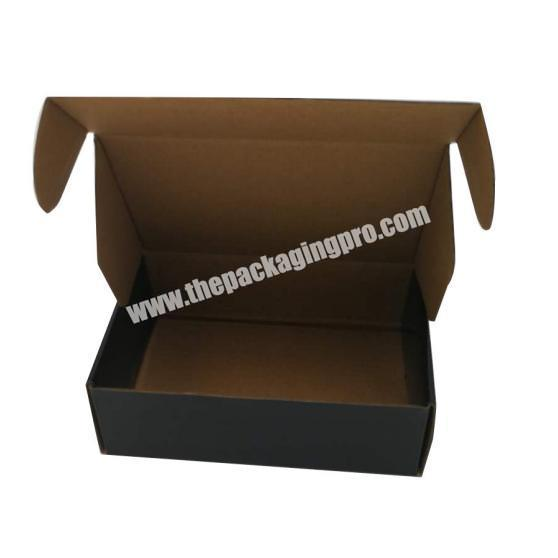 Custom Recyclable Folding Carton Boxes Clothing Corrugated Paper Gift Postal Package BoX
