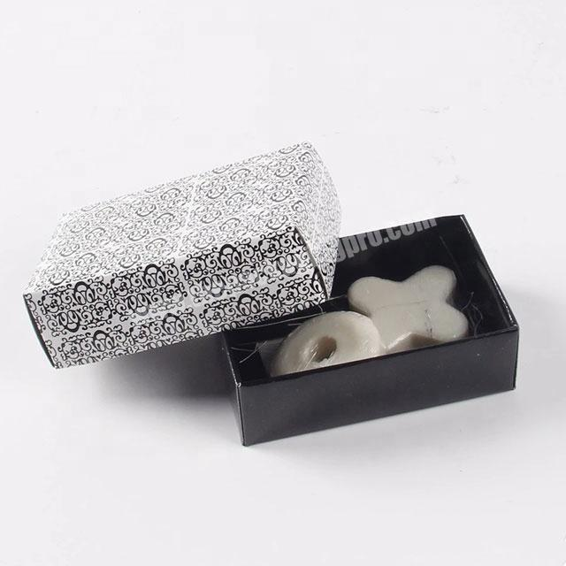 Factory Custom recyclable soap paper packaging cardboard boxes for soap