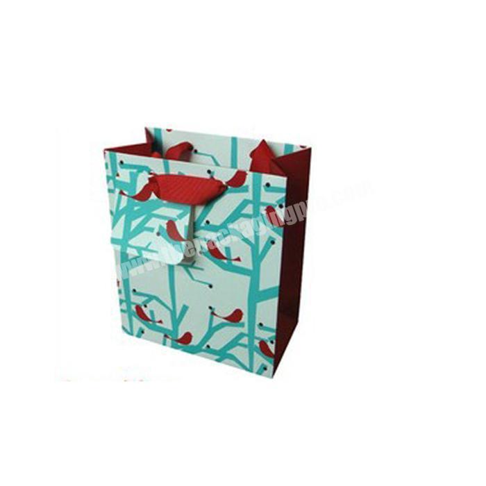 Custom size kraft shopping paper bag