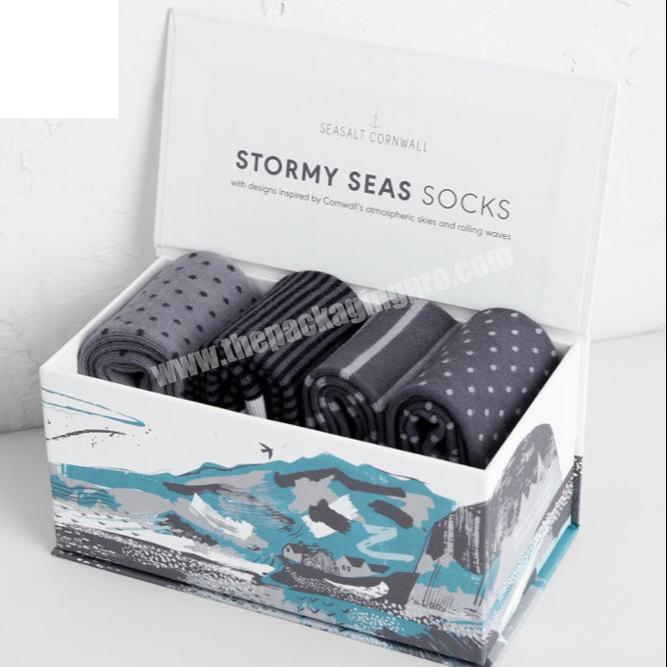 Custom Sock Sleeve Packaging Box,Wholesale Baby Socks Packaging Label