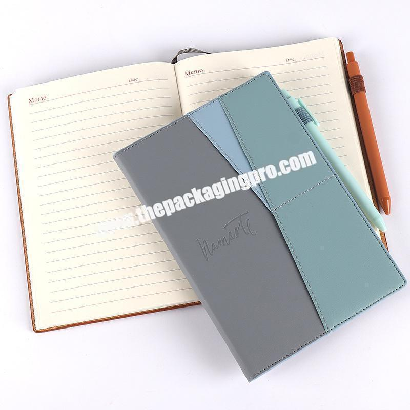 Shop Custom Stationery Luxury Refillable Ring Binding Notebooks Gift Set Business Office  Pu Leather Notebook With Box And Pen