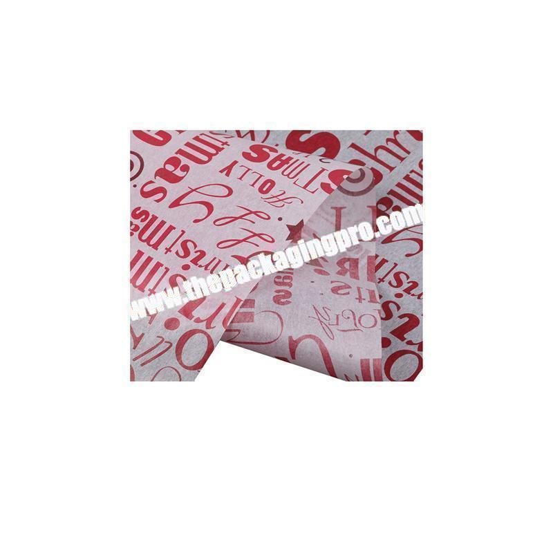 Custom tissue paper personalized