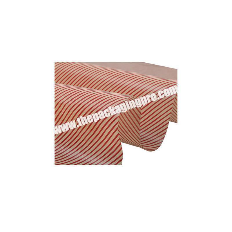 Custom tissue paper wrapper