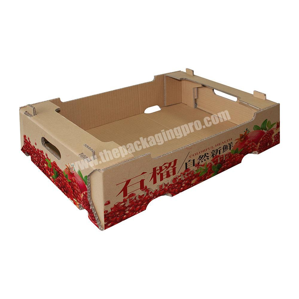 Shop Custom vegetable fruit packing corrugated carton box