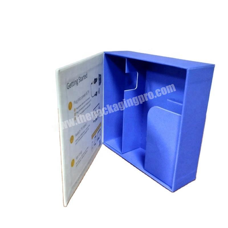 Customize Luxury 2pcs Sliding Drawer Gift Box Cardboard Sleeve with Handle Hook