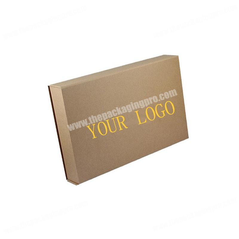 Customize Your LOGO Printing Recycle Paper Foldable Cloths Gift Packaging  Boxes