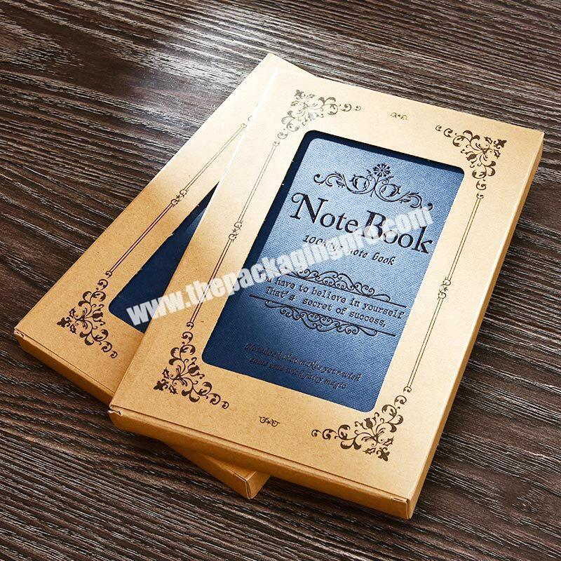 Factory Customized A4 A5 A6 Hardcover Magic Notebooks Traditional Lined Hardback Journal Blue Engraved Embossed  PU Leather Notebook