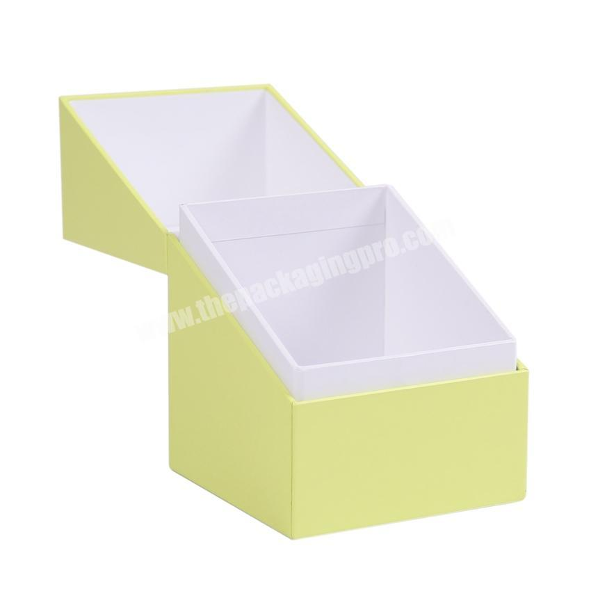 Customized cardboard packaging box Candle box small decorative cardboard boxes
