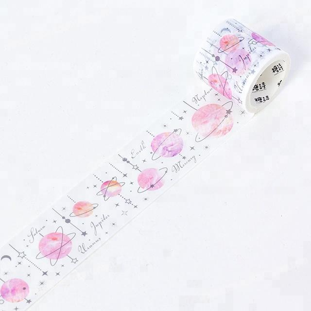 Factory customized Christmas design print Japan washi tape for wholesale