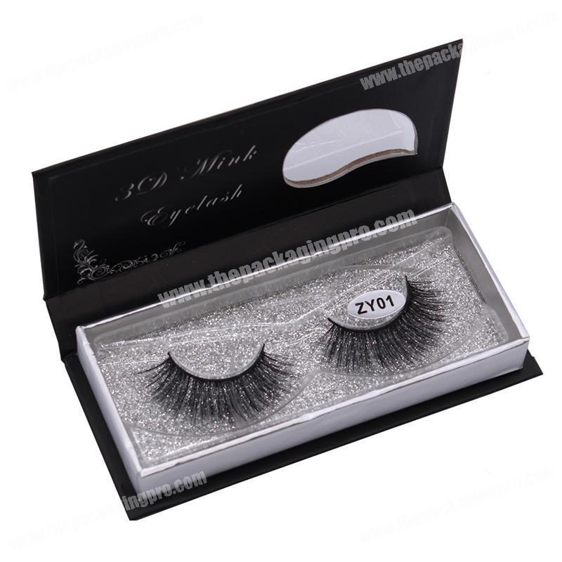 92f86aabcc6 Customized cosmetic cardboard box false eyelash packaging