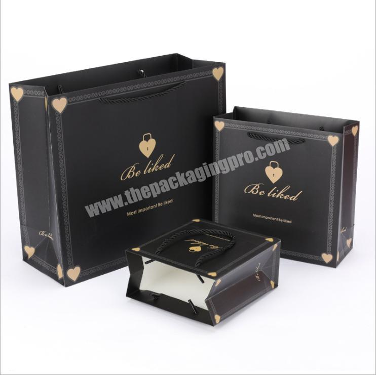 customized gift bag and gift box shopping bags with logos bag custom paper
