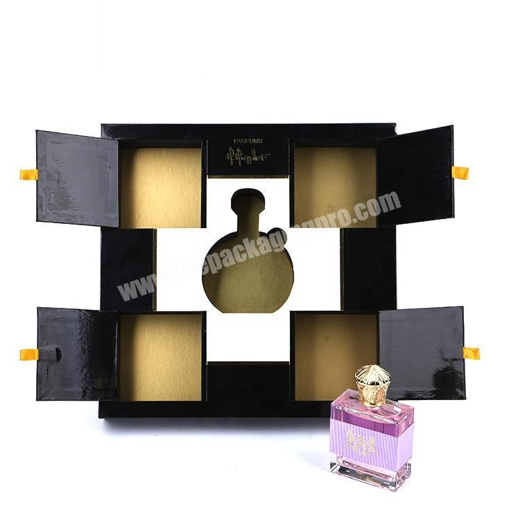 Customized Handmade Cardboard Paper Packaging Cosmetic Gift Perfume Box With Eva Inserts