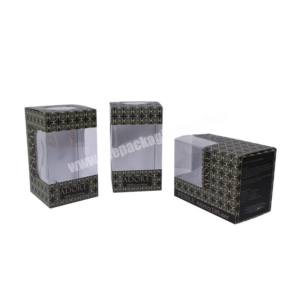 Customized High Quality Different Color Transparent Window luxury  Packing Box