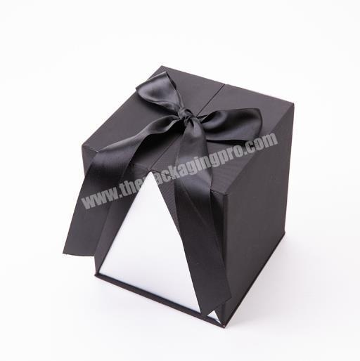 Customized Logo Folding Square Paper Gift Packaging Box for Jewelry Gift