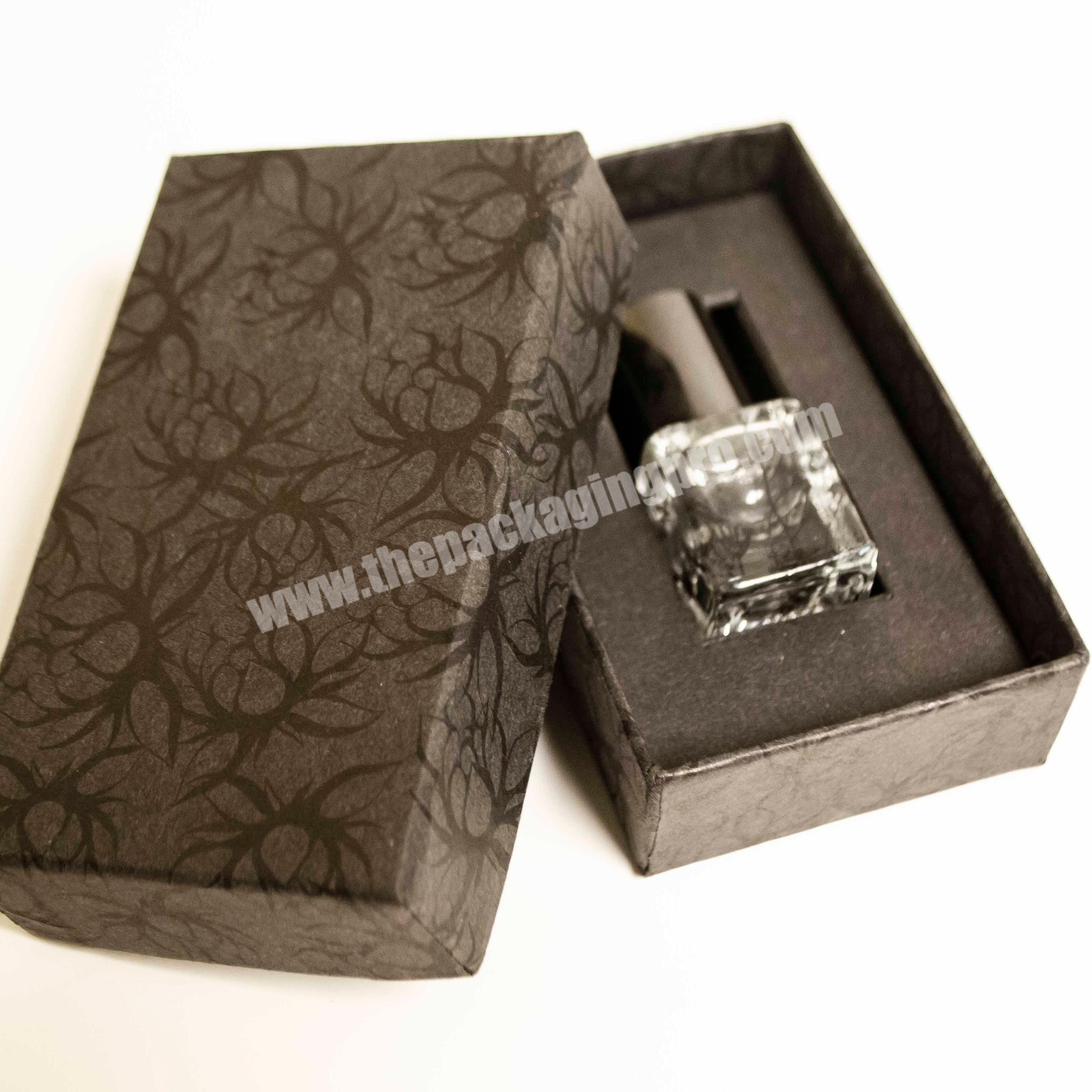 Customized Single Paperboard Perfume box with logo