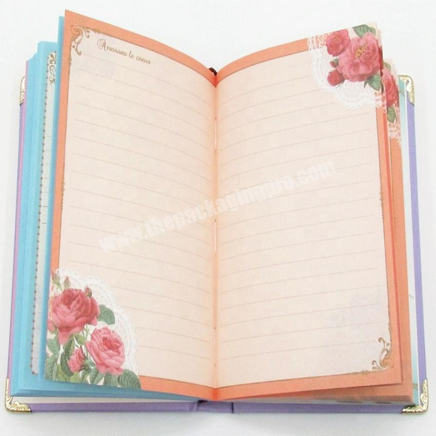 Shop Customized Smart Hardcover Notebook Printing Pages Diary Personal Planner