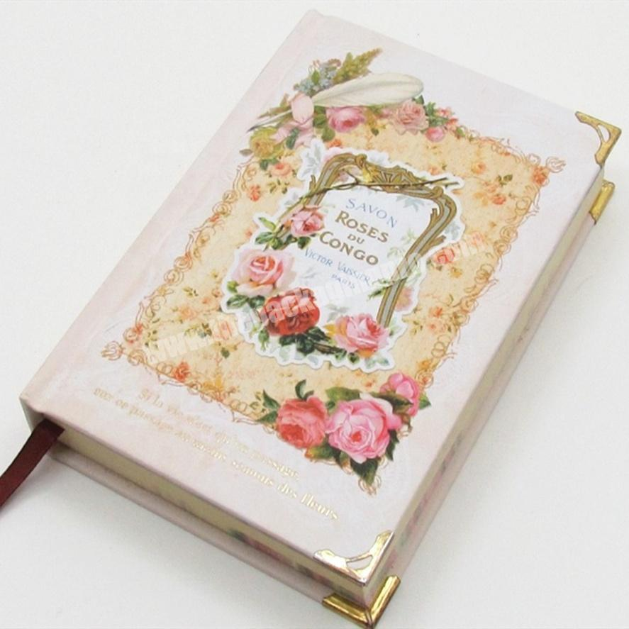 Manufacturer Customized Smart Hardcover Notebook Printing Pages Diary Personal Planner