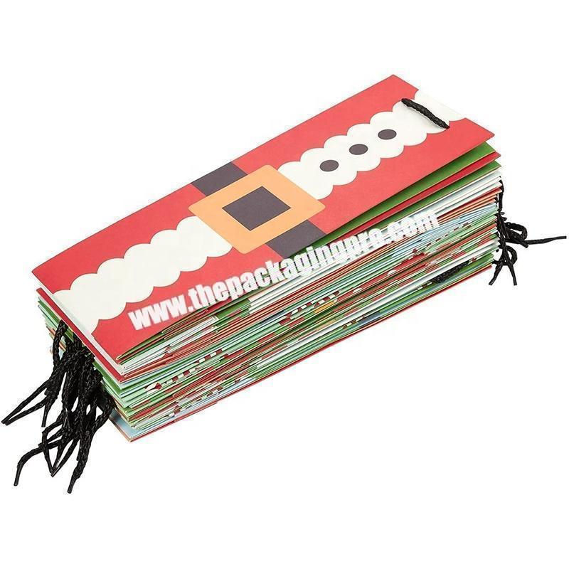 customized white shopping bag  printing retail paper gift bag