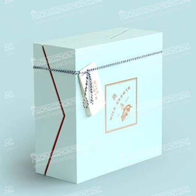 Cyan Rigid Box