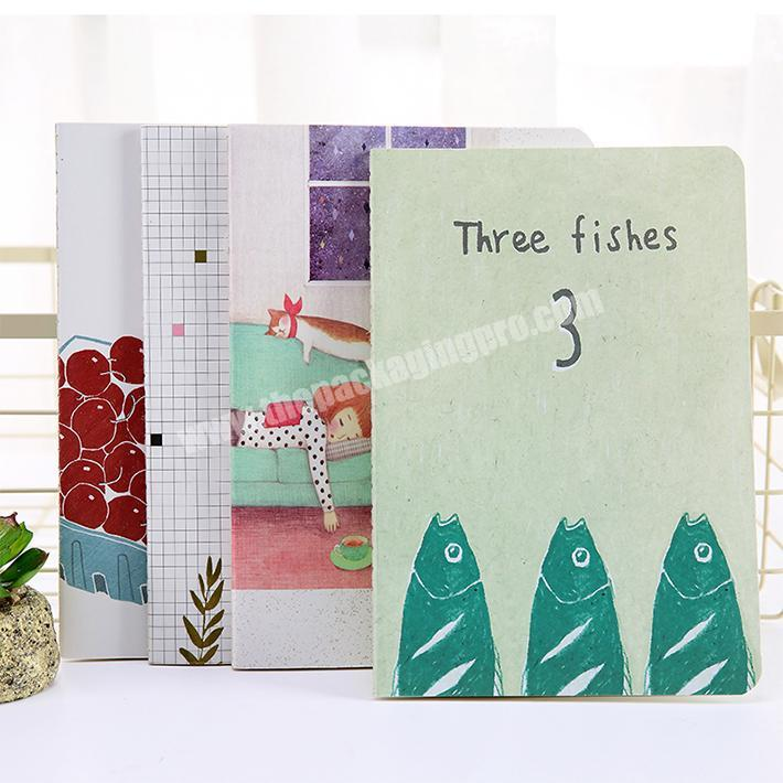 Wholesale Diary Journal Student Note Pad Book summer customized Notebook