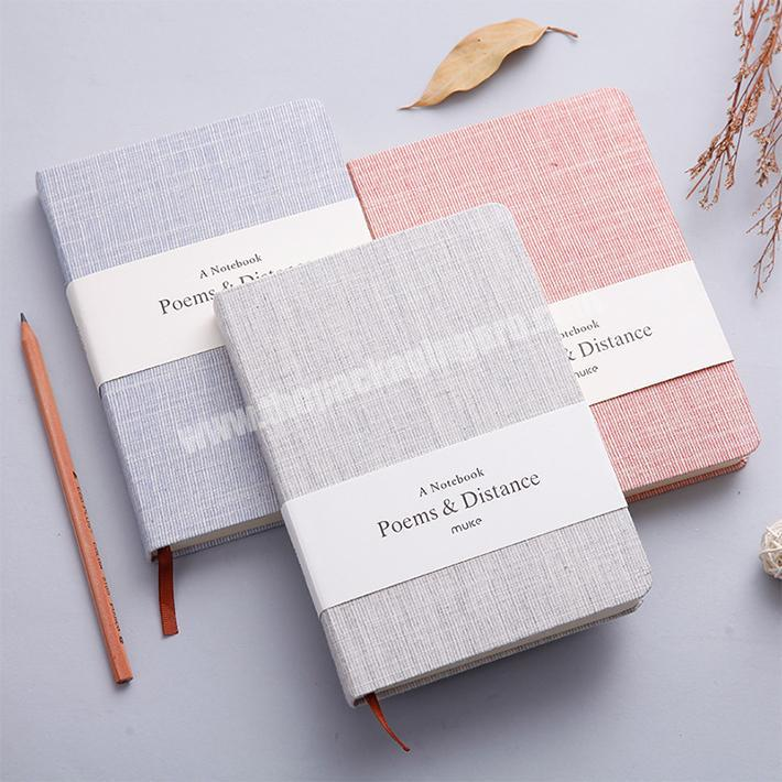 Manufacturer Diary Journal Student Note Pad Book summer customized Notebook