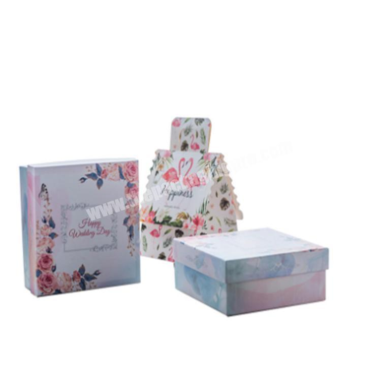 display box box gift with clear lid storage boxes