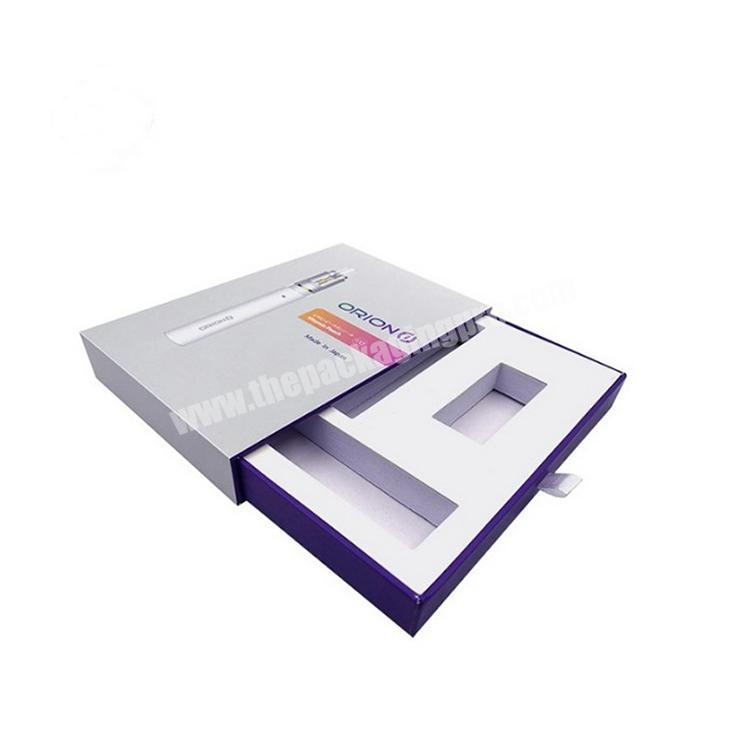 Drawer box custom factory design printing logo packaging box high-end drawer box