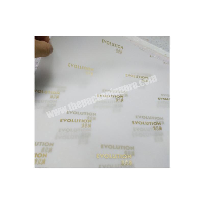 Eco-friendly custom private label tissue paper