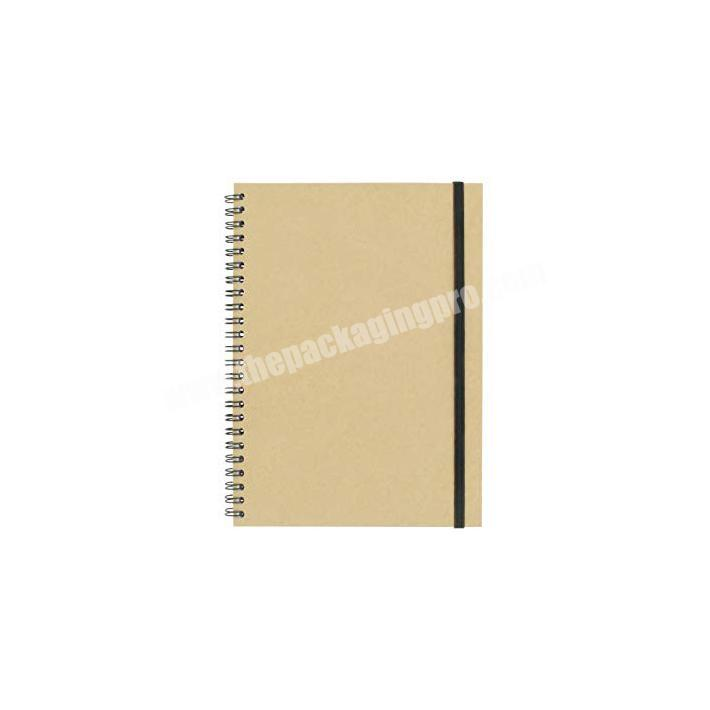 Wholesale Eco friendly custom wire spiral notebook wholesale