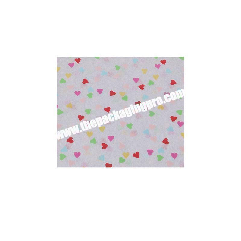 Manufacturer Eco-friendly high quality pastel tissue paper