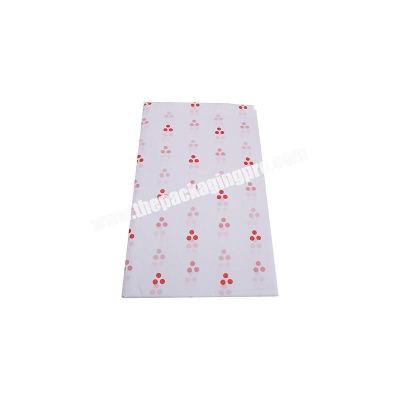 Eco-friendly high quality white tissue paper wrapping