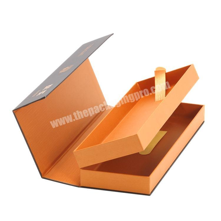 Custom Eco-friendly Multilayer Rigid Paper Box with Magnets & Tissue Paper for Cigarette  Display