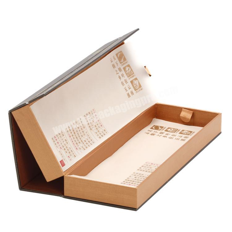 Factory Eco-friendly Multilayer Rigid Paper Box with Magnets & Tissue Paper for Cigarette  Display