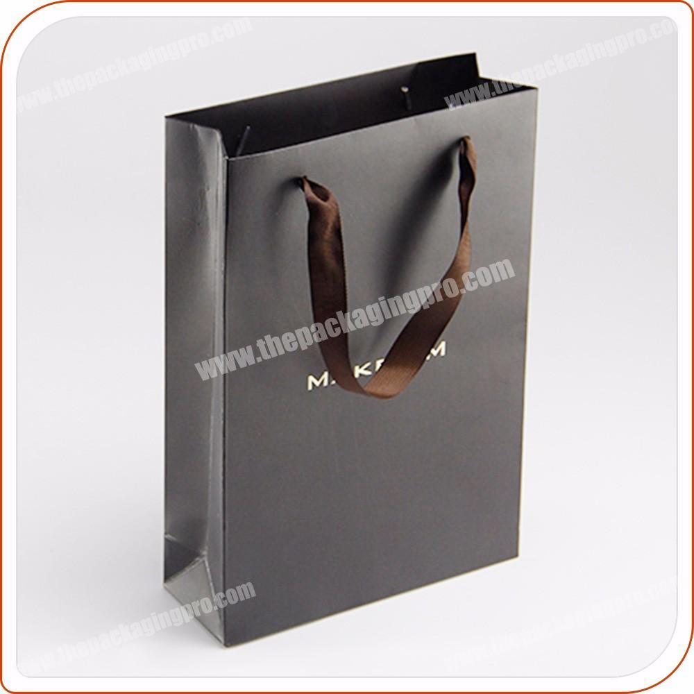 factory best quality art paper gift bag packaging for clothes