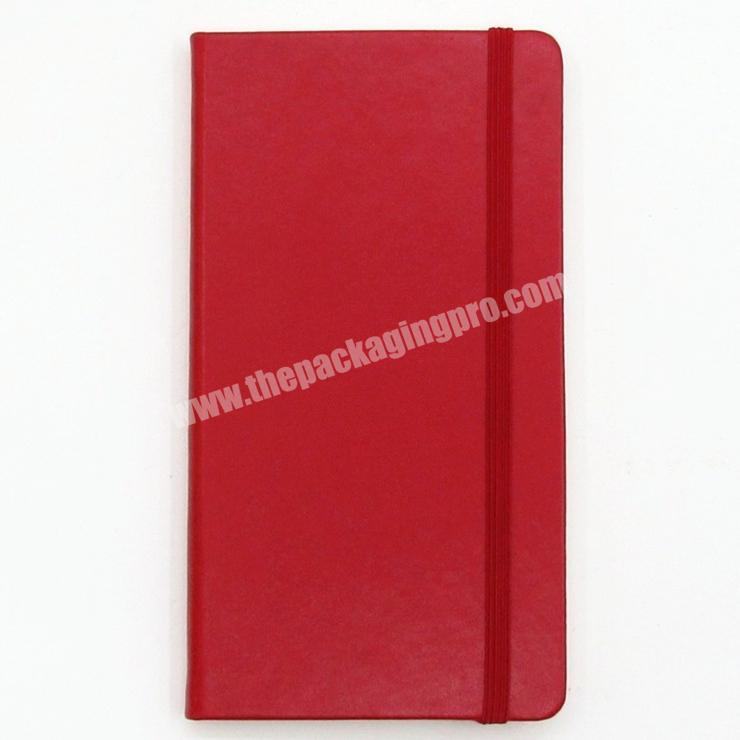 Manufacturer Factory Colorful PU Cover Notebook With Custom Colorful Ribbon And Elastic Diary