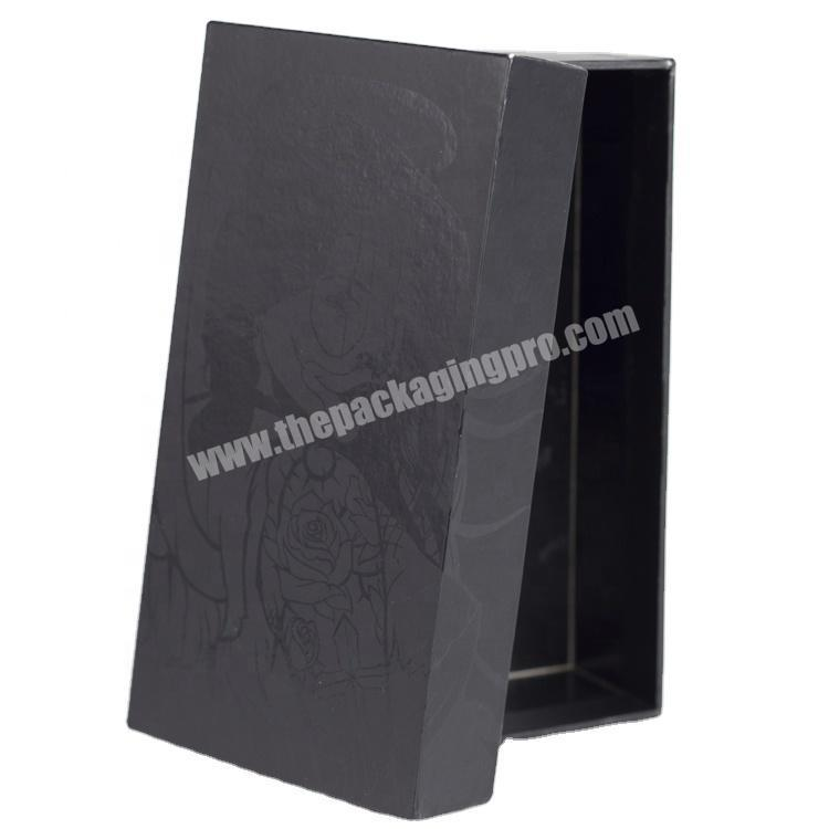 Factory Custom Made Most Popular High End Lid And Bottom Necklace Box