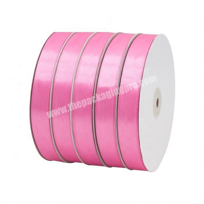 Factory Custom Printed Polyester Satin Ribbon