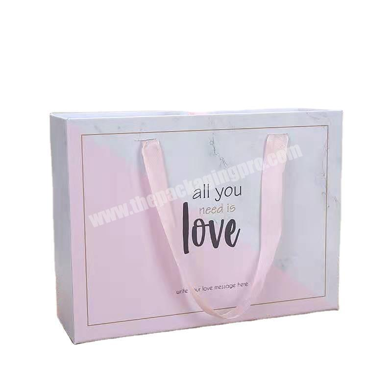 Factory direct box gift foldable gift box square gift box