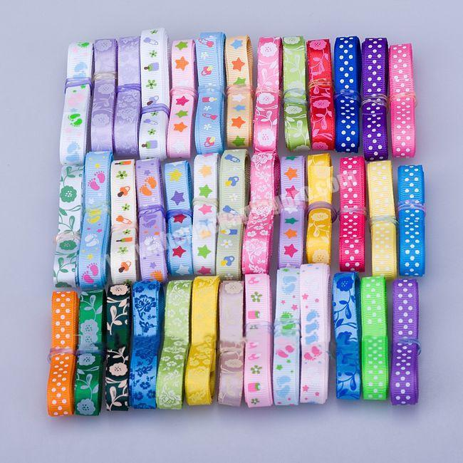 Wholesale factory direct sale 75mm grosgrain printed ribbon