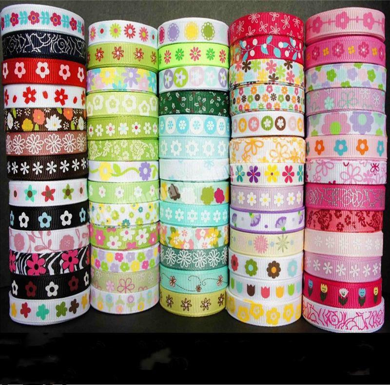 Manufacturer factory direct sale 75mm grosgrain printed ribbon