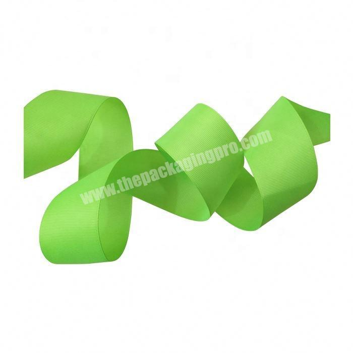 Factory direct sale colorful packing grosgrain ribbon