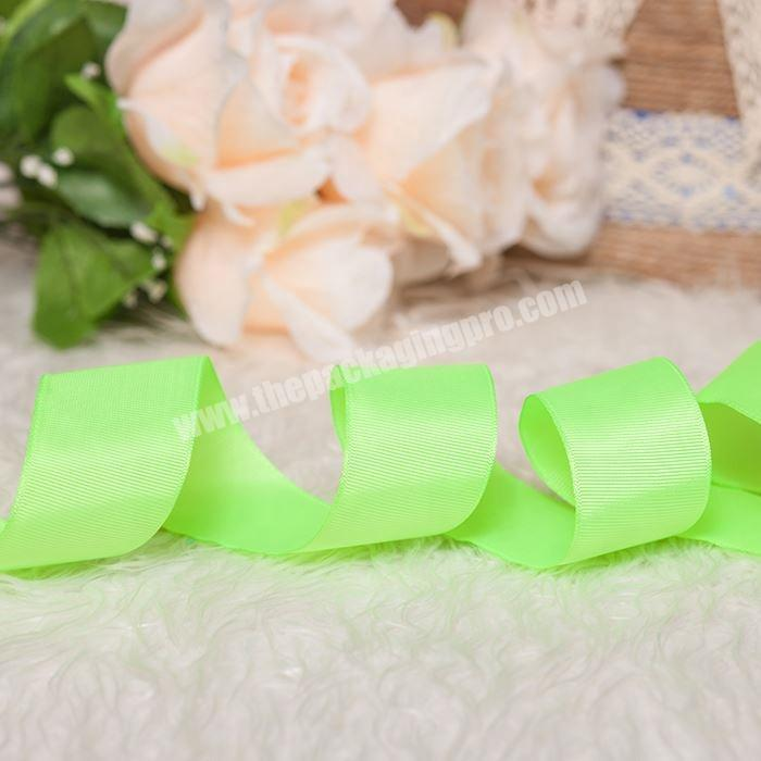Shop Factory direct sale colorful packing grosgrain ribbon