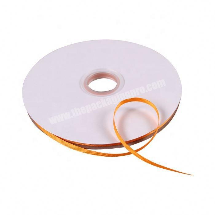 Supplier Factory direct sale colorful packing grosgrain ribbon
