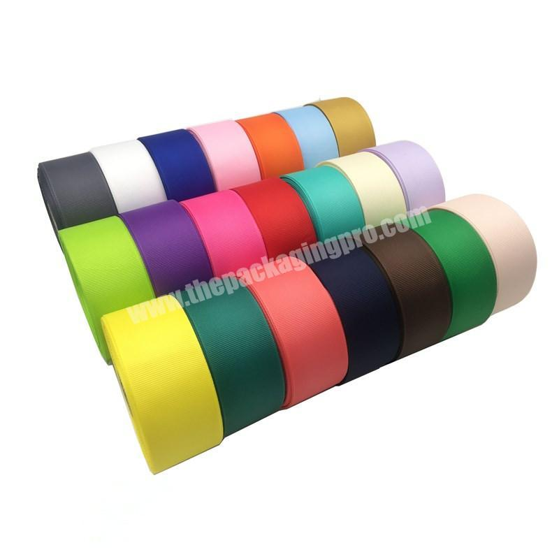 Factory factory direct sale custom printed 75mm grosgrain ribbon