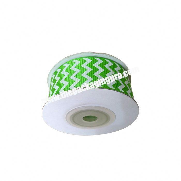 Manufacturer Factory direct sale polyester double side Christmas decoration grosgrain ribbon